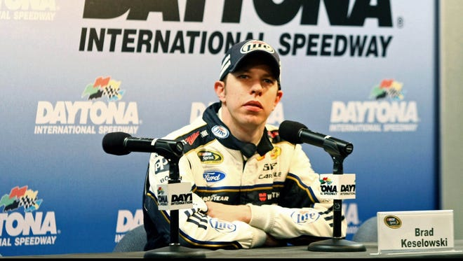 """What NASCAR needs to do is somehow wean ourselves off our sponsors"" says Brad Keselowski."