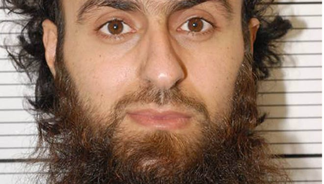"""Irfan Khalid, pictured, along with Irfan Naseer and Ashik Ali, were found guilty of being """"central figures"""" in a U.K. terrorist bomb plot."""
