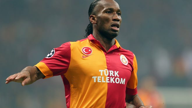 Didier Drogba joined Galatasaray during the January transfer window.