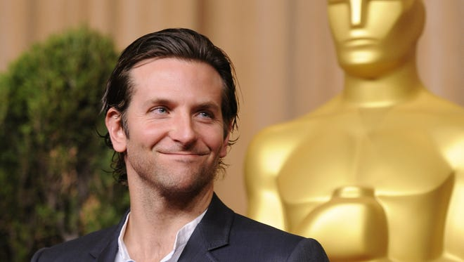 """Bradley Cooper nominated for best actor for """"Silver Linings Playbook"""" arrives at the Academy Awards nominees luncheon held at the Beverly Hilton Hotel."""
