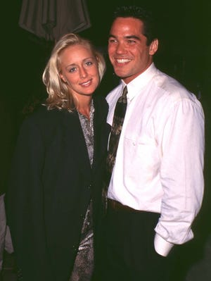 Mindy McCready and Dean Cain back in 1997.