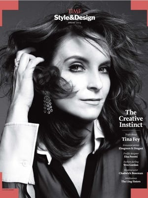 Tina Fey graces of the cover of the latest issue of 'Time Style & Design'