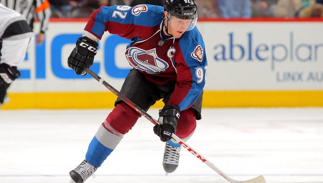 Colorado Avalanche forward Gabriel Landeskog has not played since he suffered a concussion in the fourth game of the season. San Jose's Brad Stuart hit Landeskog, who was awarded the Calder Trophy after a fantastic rookie campaign.
