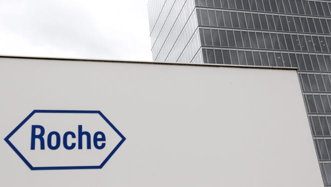Swiss drugmaker Roche produced a new targeted breast cancer drug.