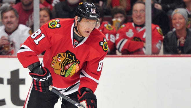 Chicago Blackhawks right wing Marian Hossa is expected back in the lineup on Friday after being injured in his last game.