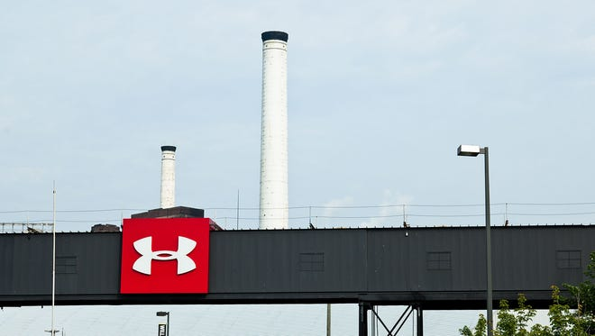 Under Armour's global headquarters is located next to Baltimore's Inner Harbor.