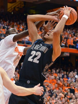 Georgetown's Otto Porter had 33 points in the Hoyas' win over Syracuse.