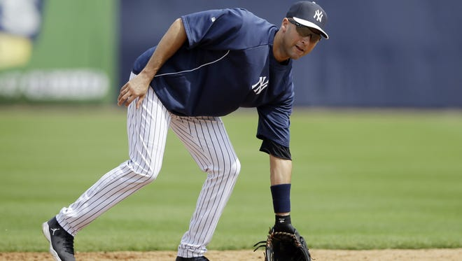"""Derek Jeter ran the bases in what he called a """"natural progression."""""""