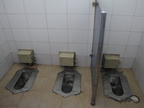 the facts toilets and the o 39 jays on pinterest On china bathroom