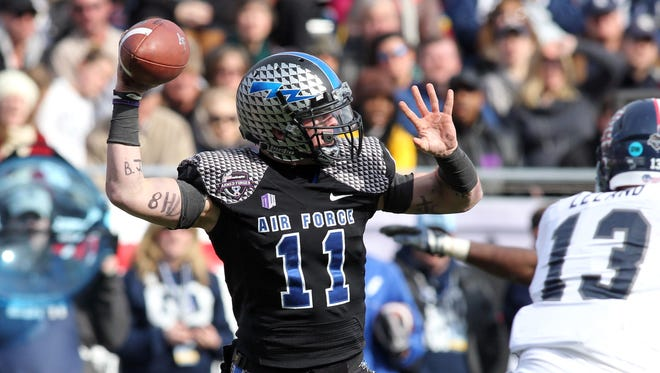 Which quarterback Air Force chooses to replace Connor Dietz will dictate the direction the Falcons take on offense.