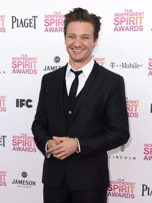 Jeremy Renner attends the 2013 Film Independent Spirit Awards in Santa Monica.