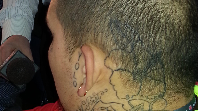 Alabama Dt Jesse Williams Has Strange Tattoo