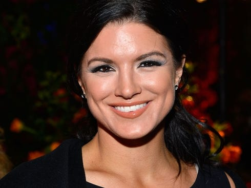 Gina Carano Before Implants Posted Image