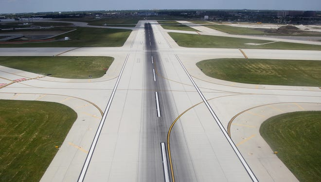 Different types of runways have different markings. A small airport runway with no instrument approach is not marked or lighted with all the marking or lights of a major airport's primary runway.
