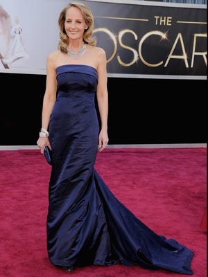 Best-supporting actress nominee Helen Hunt at the Oscars.