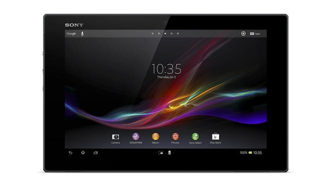 Sony's Xperia Tablet Z.