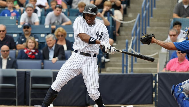 Curtis Granderson's 43-home run ability will be missing from the Yankee lineup until at least May.