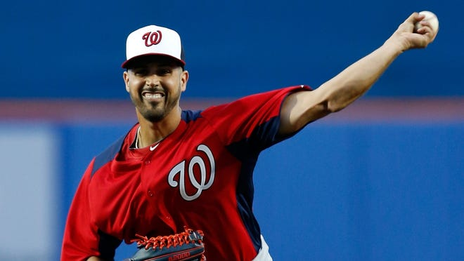 Gio Gonzalez pitched two hitless innings in his spring training debut.