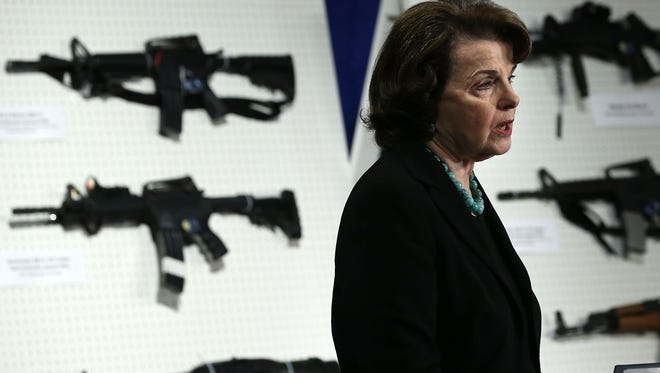 Sen. Dianne Feinstein, D-Calif., will chair a hearing Wednesday on her proposed assault weapons ban.