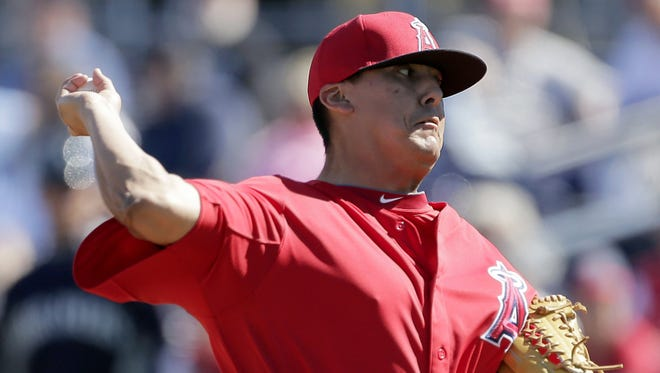 Angels reliever Chad Cordero saved the most games in Washington Nationals history eight years ago.