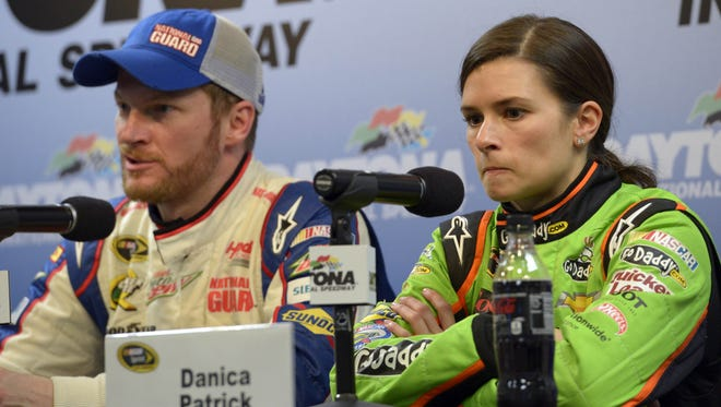Dale Earnhardt Jr. was second and Danica Patrick eighth in Sunday's Daytona 500 on Fox, which drew huge TV ratings.