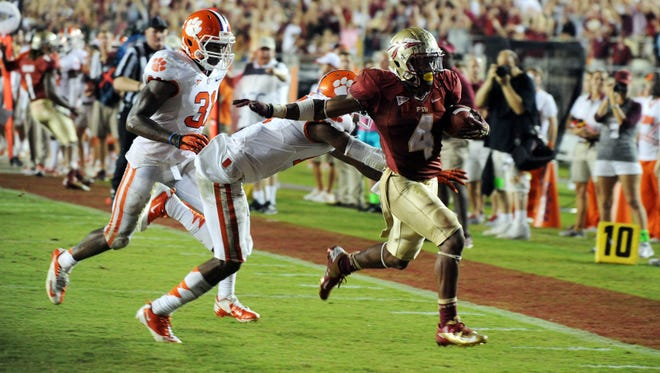 """A date between Florida State and Clemson highlights the ACC""""s 2013 schedule."""