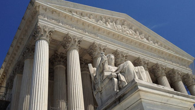 One of the most controversial anti-terrorism laws passed in the wake of the Sept. 11, 2001,  attacks may be beyond normal judicial review, the U.S. Supreme Court ruled Tuesday.