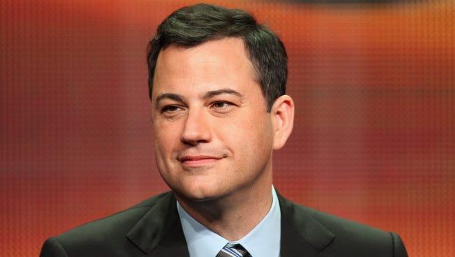 Late-night talk show host Jimmy Kimmel.