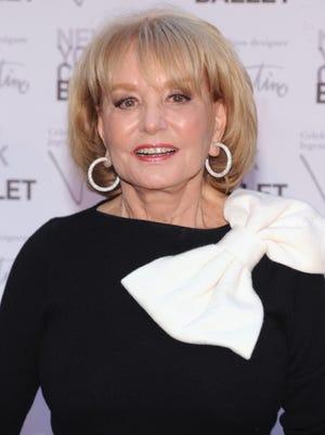 Barbara Walters in New York last September.