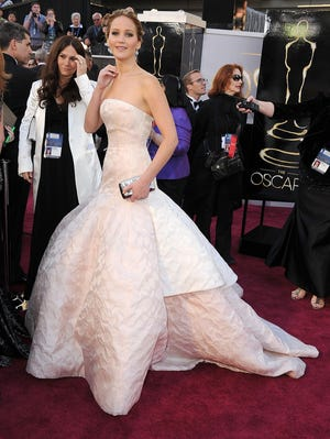 Jack Nicholson seems to think Jennifer Lawrence is girlfriend material.