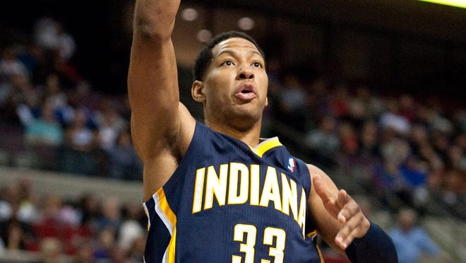 Indiana Pacers small forward Danny Granger (33) will make his home debut on Wednesday.