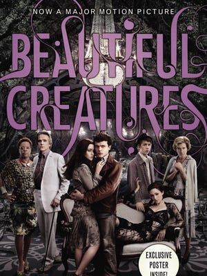 Movie tie-in book jacket for 'Beautiful Creatures' by Kami Garcia and Margaret Stohl