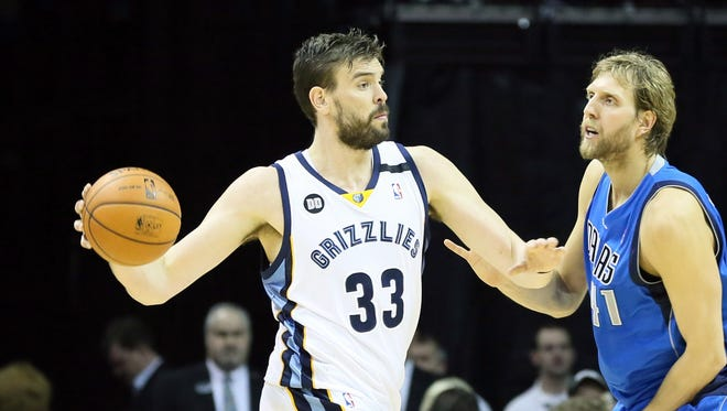 Marc Gasol scored 21 points to help the Grizzlies rally for their eighth straight win.