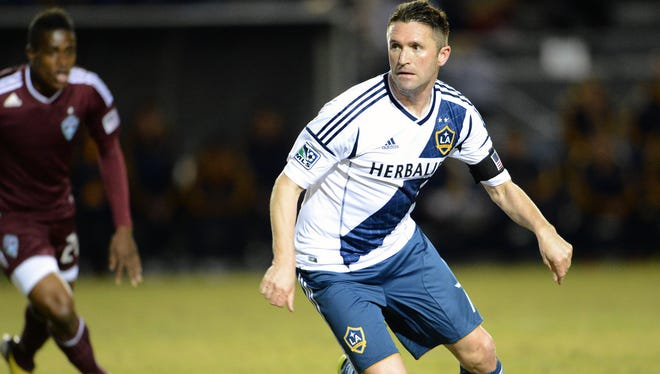 Los Angeles Galaxy forward Robbie Keane is a key contributor for the defending champions. The Galaxy host Chicago on Sunday.