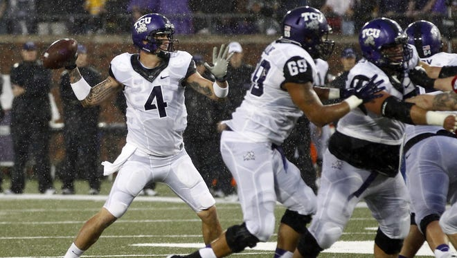 TCU welcome back quarterback Casey Pachall after his missed most of last season after a team suspension.