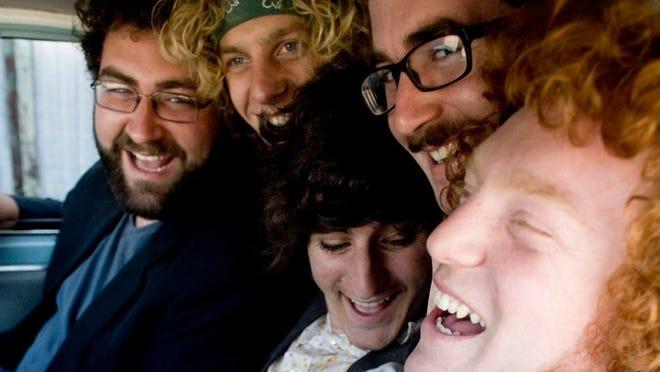 The Tumbleweed Wanderers, from left: Daniel Blum, Zak Mandel-Romann, Bobby Lawrence, Patrick Monaco Glynn, Jeremy Lyon.