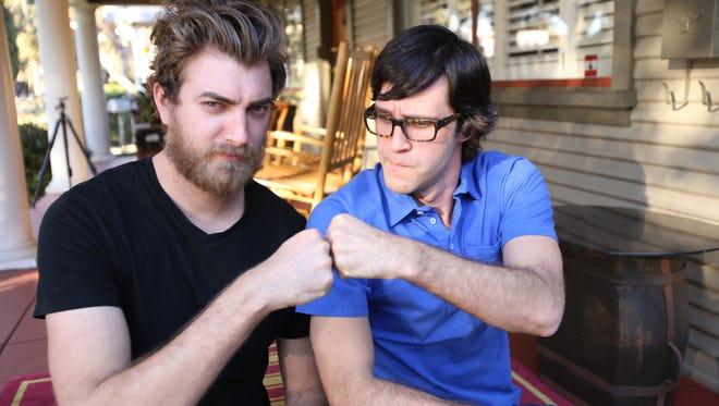Rhett McLaughlin and Link Neal.
