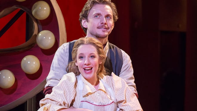 Jessie Mueller and  Jason Danieley star in the New York Philharmonic's 'Carousel.'