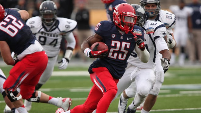 Arizona has an All-American running back in Ka'Deem Carey, but the Wildcats' hope of making a move in the Pac-12 depends on growth on defense.