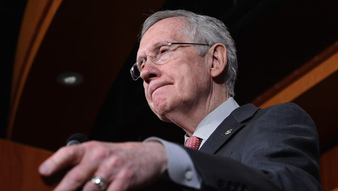 """""""I really believe that the American people deserve better than what the Republicans in this building believe is the right thing,"""" said Senate Majority Leader Harry Reid, D-Nev."""