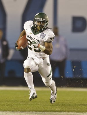 Baylor running back Lache Seatrunk, a junior, exploded over the second half of 2012.
