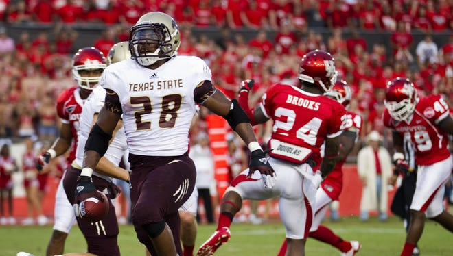 Texas State will look to continue its emphasis on a strong running game as it moves to the Sun Belt Conference in 2013.