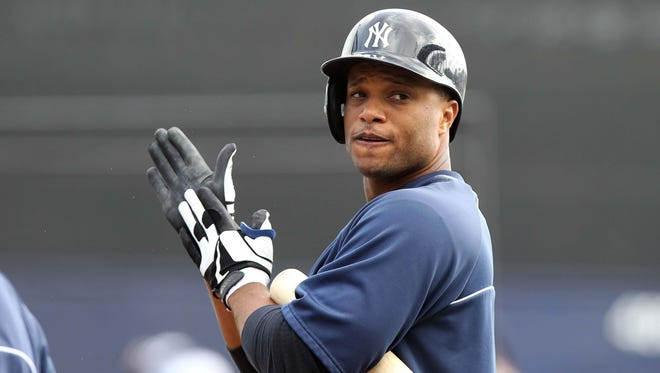 Yankees second baseman Robinson Cano struggled last season in the playoffs, hitting just .075.