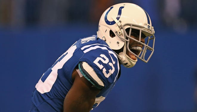 The Colts acquired Vontae Davis from the Dolphins prior to the 2012 season.