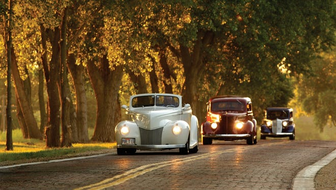 Two hundred classic cars will motor into Kearney, Neb., on June 30 on the Lincoln Highway.