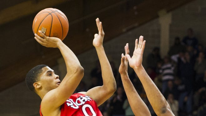 The basketball teams from St. John's and Villanova, which played an overtime game on Feb. 2, appear poised to compete in a new league with five other Catholic Big East schools as soon as next Fall.