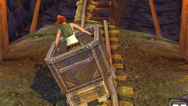 A screenshot of the mobile game 'Temple Run 2.'