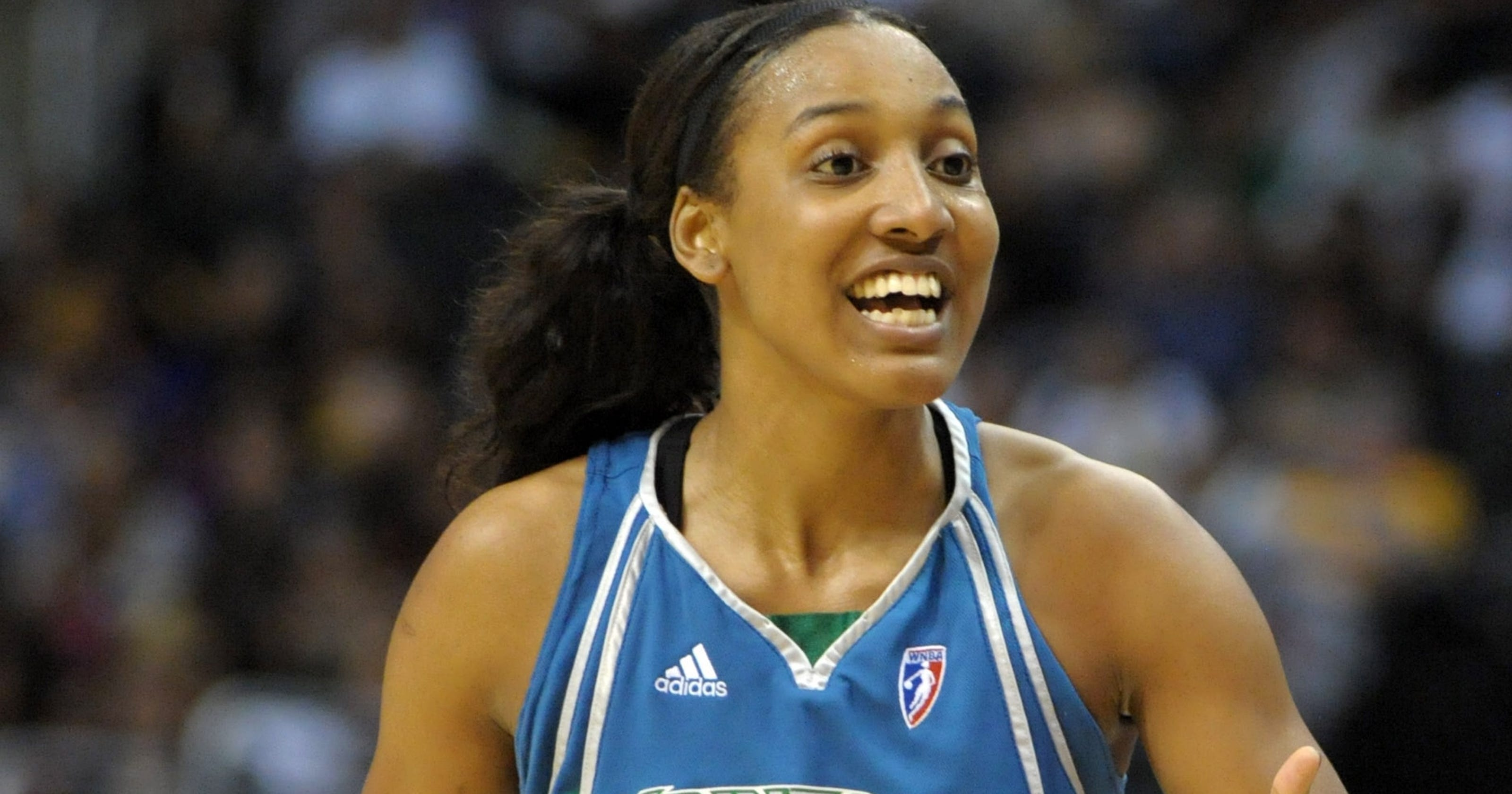 best website eaa6c 5229f Tulsa Shock get Candice Wiggins, Nicole Powell in trade