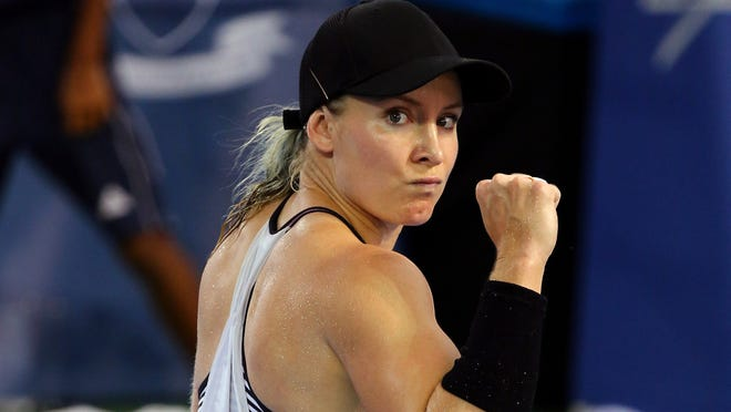 Bethanie Mattek-Sands of the USA is into her first final in two years after defeating Pavlyuchenkova of Russia.