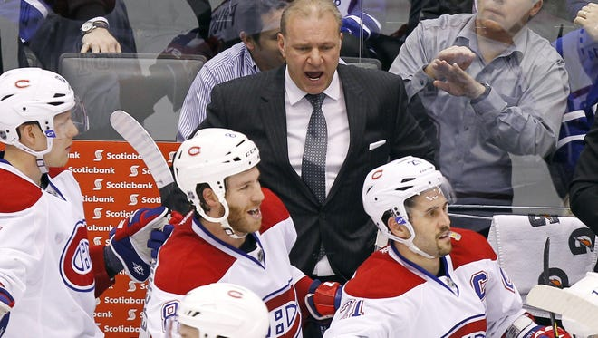 Montreal coach Michel Therrien has lifted the Canadiens from last in the Eastern Conference in 2011-12 to first this season.